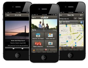 Viator travel app crop