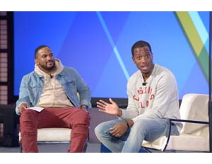 Left-to-right: Everette Taylor, Tristan Walker (Image: File)