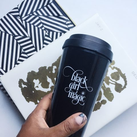 Effie's Paper Black Girl Magic travel mug