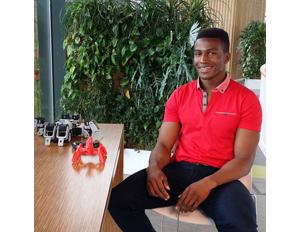 Young Nigerian Robotics Engineer Creates High-Tech Battlebots