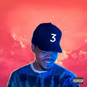 "Chance The Rapper's album ""Coloring Book."""