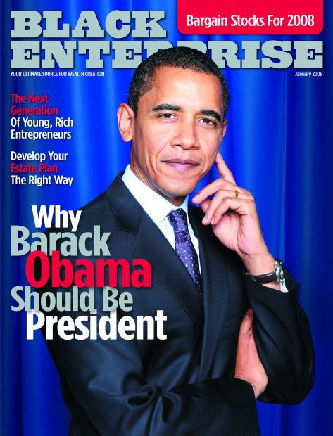 BE Obama Cover