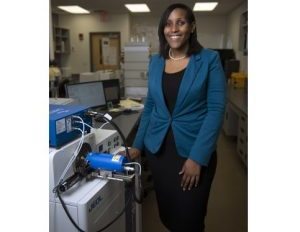 Black Female Chemist
