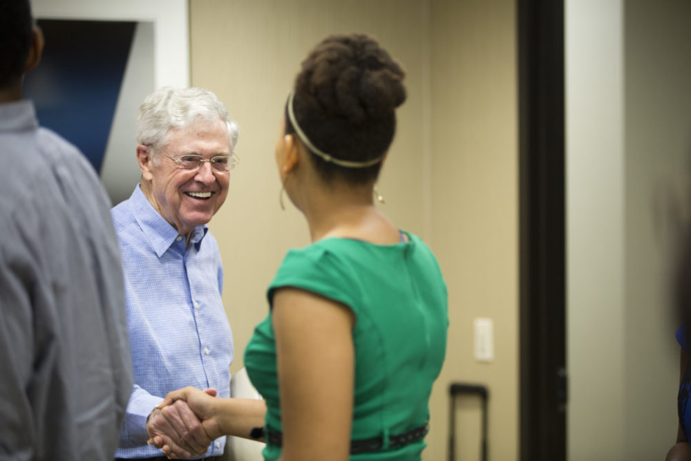 Charles Koch's Principles of Higher Learning