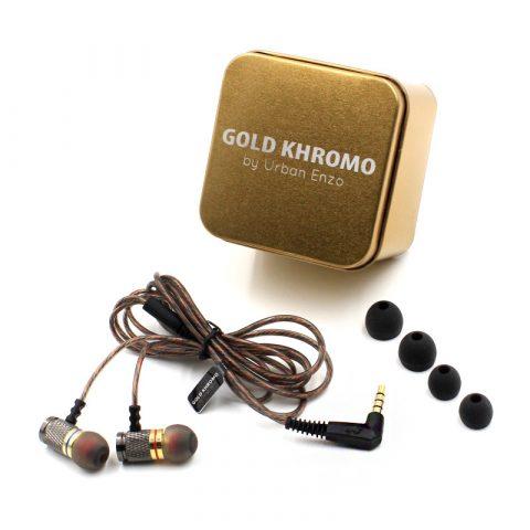 Gold Khromo Earphones