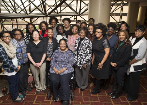 (Image: S. King for the Research Coalition of Black Women and Girls in Computing 2016)