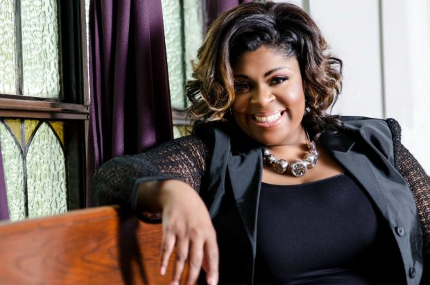 Kim Burrell promotional photo. Courtesy of Shanachie.