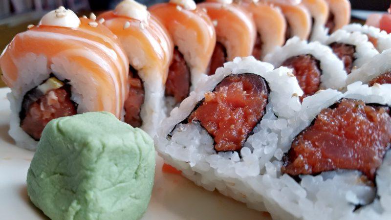 Sushi at Jazmine