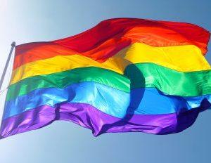 Kim Burrell, rainbow flag,
