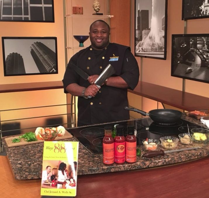 Passion to Purpose: Chef Jernard Wells Talks Love, Food, and Leaving a Culinary Legacy