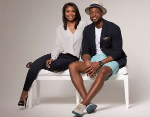 Dwyane Wade and Gabrielle Union Setup His & Hers Popup Shop For NBA All-Star Weekend