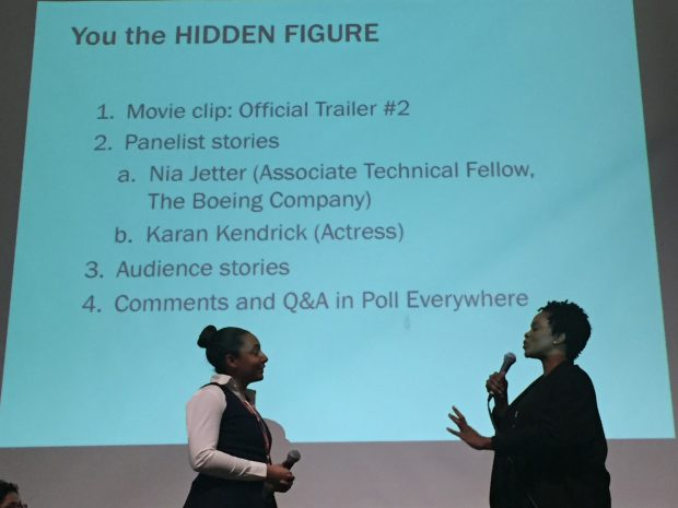 Nia Jetter and Karan Kendrick