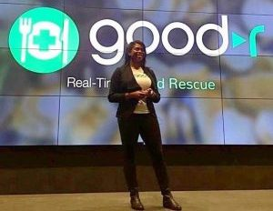 Black Female Tech Entrepreneur Fights Hunger With an App