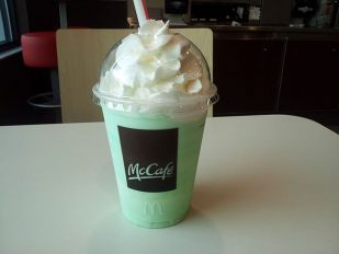 Slurp Your Shamrock Shake With a McDonald's High-Tech Straw