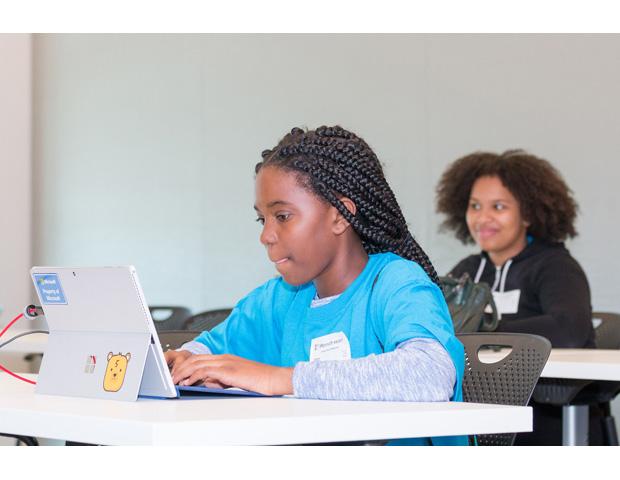 Girls STEM Tech Day at Microsoft