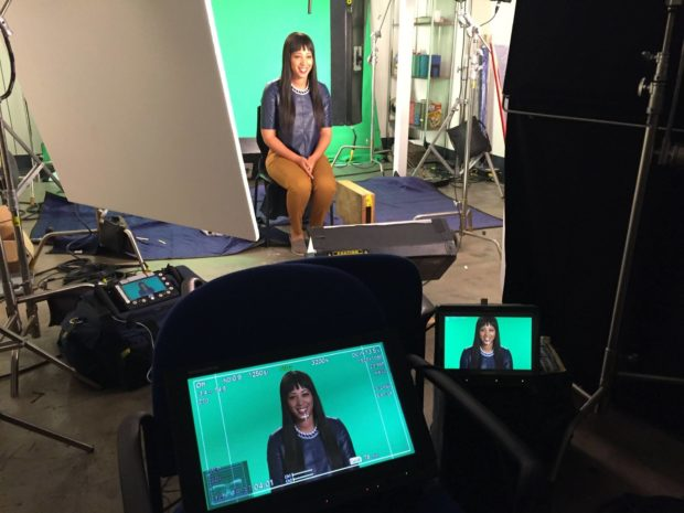 "Shooting Talking Head Footage for ""Startup U"""