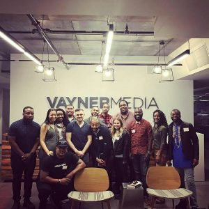 Gary Vaynerchuk, Sequoia Blodgett, Charles Cole, Cliff Worley, Ruben Harris, Allie Felix, Thomas Knox, Mike Tauiliili, Muhga Eltigani, Dave Salvant, Terry Oppong, Lafe Taylor, Lamar Wilson