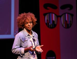 Artist Nekisha Durrett Strikes Deals at Art Tank Pitch Competition