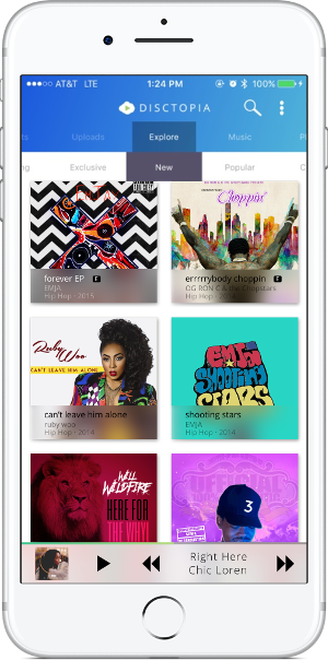 disctopia app