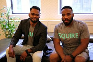 Left to Right: Songe LaRon and Dave A. Salvant (Image: Squire)
