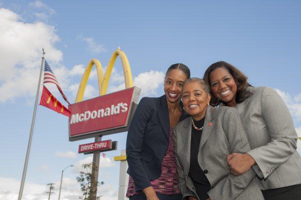 McDonald's franchises