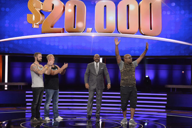 The Fishing Caddy CEO Joe Pippins wins on Steve Harvey's Funderdome