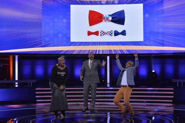 Tri Bow Tie creator Marlon Rhodeman wins on Steve Harvey's Funderdome