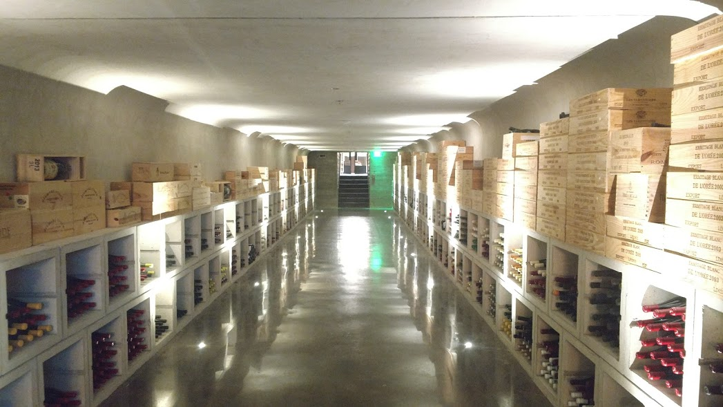 Wine Cellar at Blackberry Farm