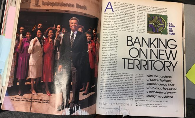 45 Great Moments in Black Business – No. 38: Indecorp Buys a $100 Million White-Owned Bank