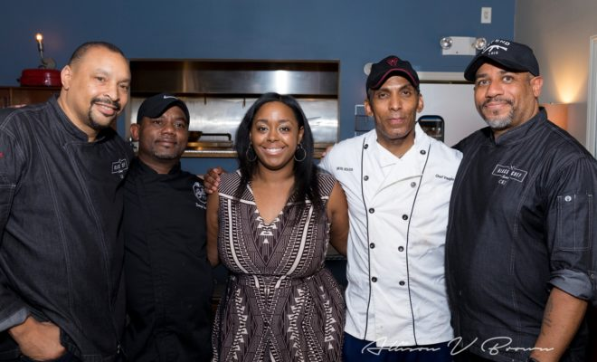 Black Enterprise Executive Managing Editor Hosts Black Chef Series in Harlem