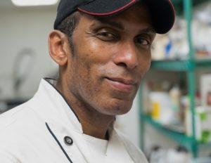 black chef Vaughn Moore
