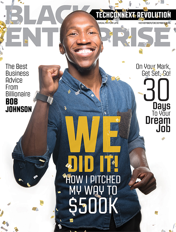 Black Enterprise magazine November/December 2016 issue