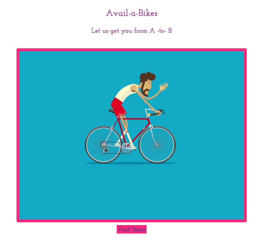 Avail-a-Bikes (Created by Thien Pham & TaChyla Murray)
