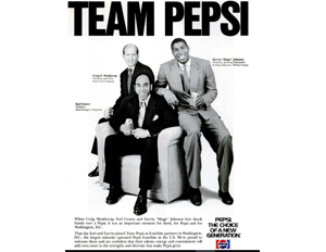 45 Great Moments in Black Business – No. 30: Earl Graves Sr. and Magic Johnson Close $60 Million Deal to Create Largest Black Pepsi Franchise