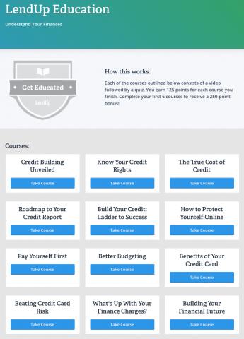 Financial Education Resources (Image: LendUp)