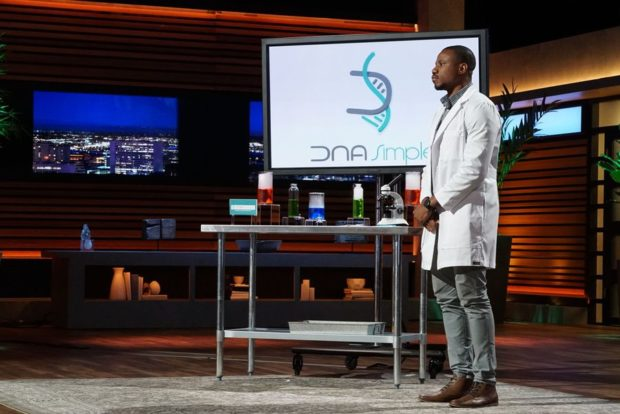 Olivier Noel Pitches DNA Simple on ABC's Shark Tank