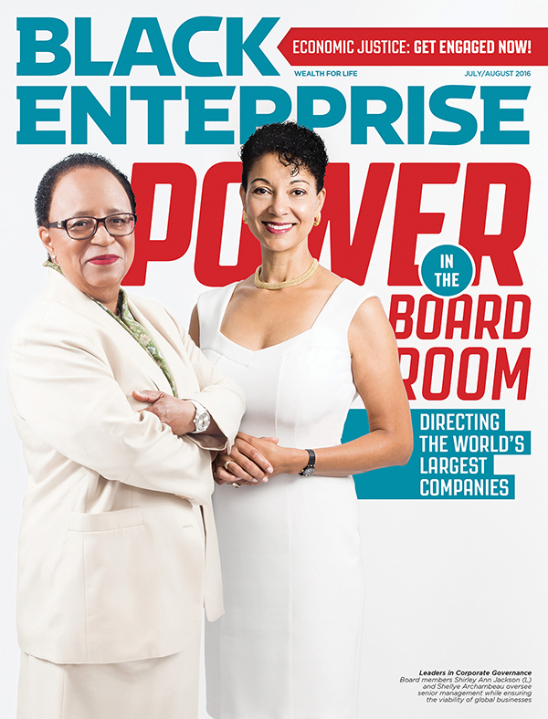 Black Enterprise magazine July/August 2016 issue