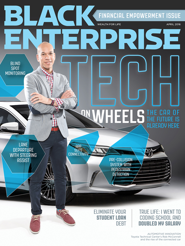 Black Enterprise magazine April 2016 issue