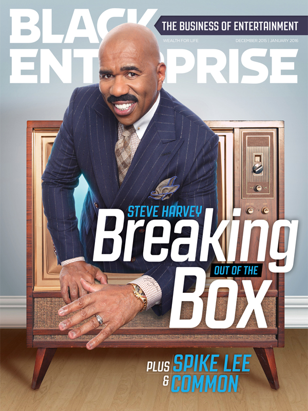 Black Enterprise magazine December/January 2016 issue