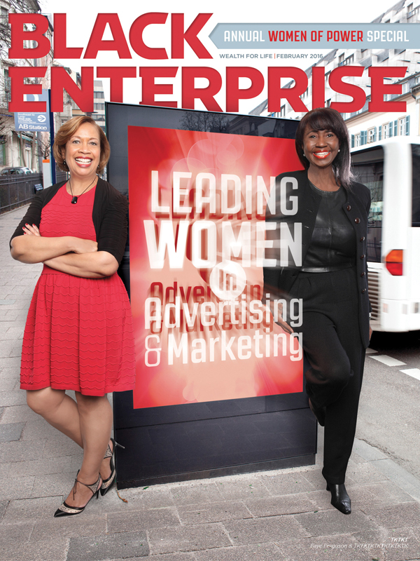 Black Enterprise magazine February 2016 issue