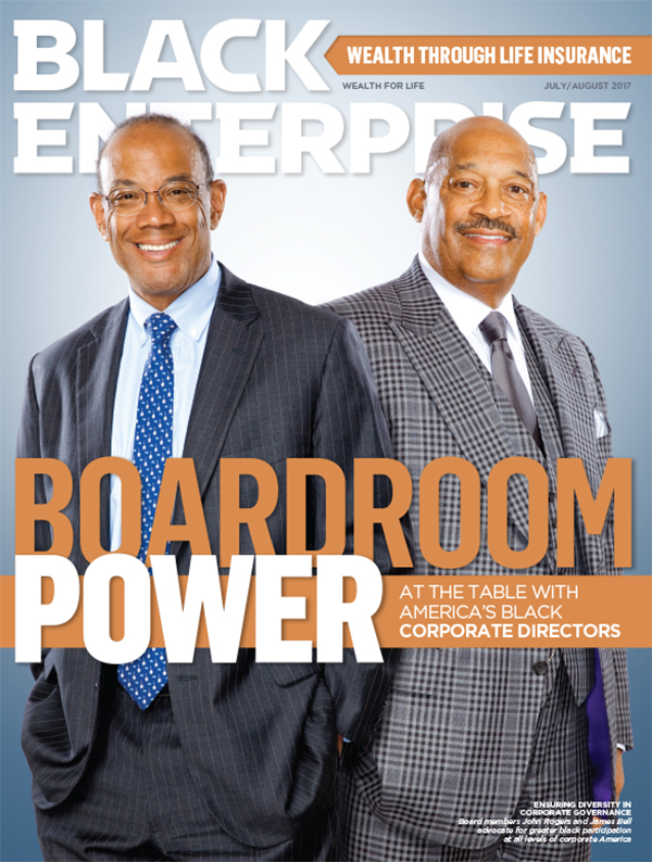 Black Enterprise magazine July/August 2017 issue