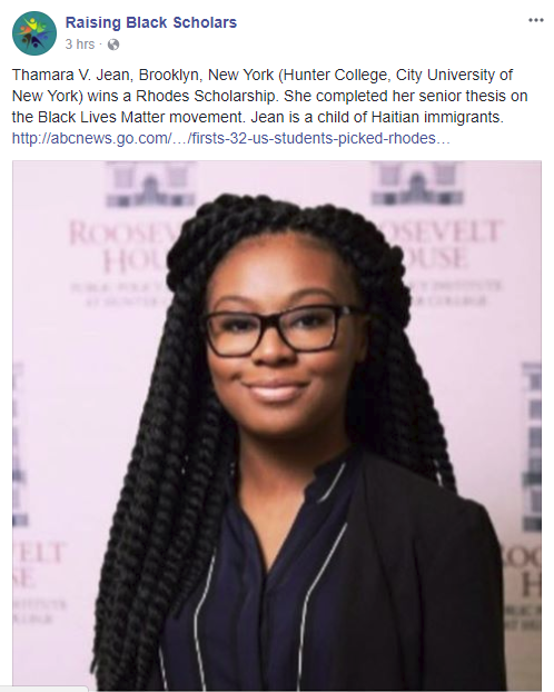 10 Rhodes Scholars of African Descent—a Record Number