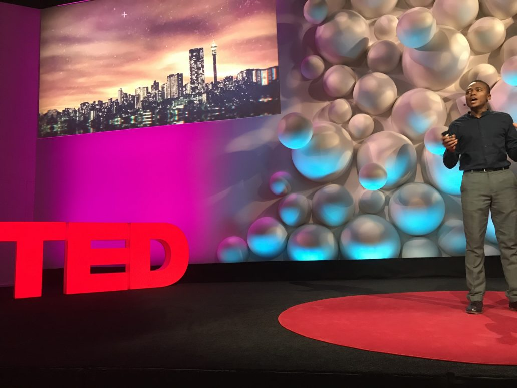 Tapiwa Chiwewe TED Talk at IBM@TED (Image: file)