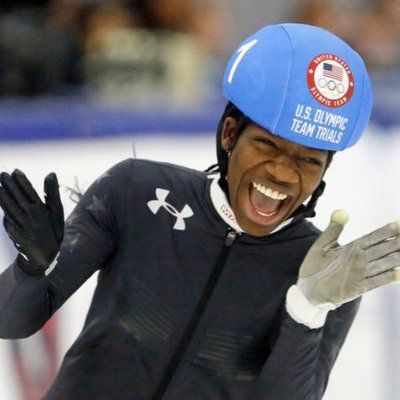 Maame Biney Becomes First Black Woman to Compete on an Olympic Speed Skating Team
