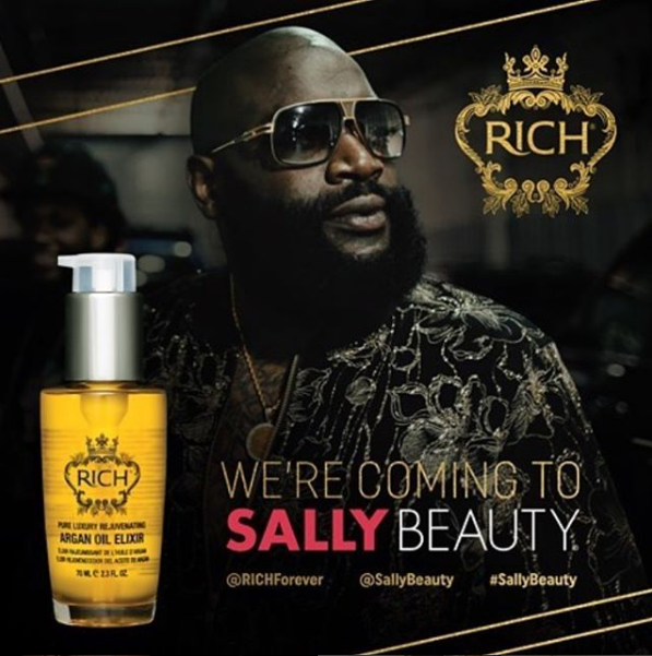 Rapper Rick Ross Taps Into the Booming Beard Business