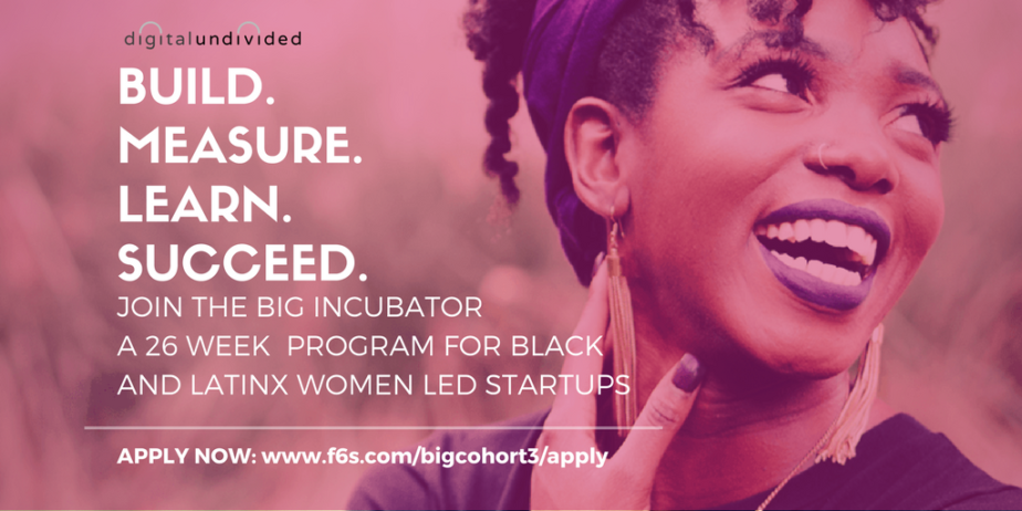 Digitalundivided Seeks Female Applicants for BIGATL Incubator