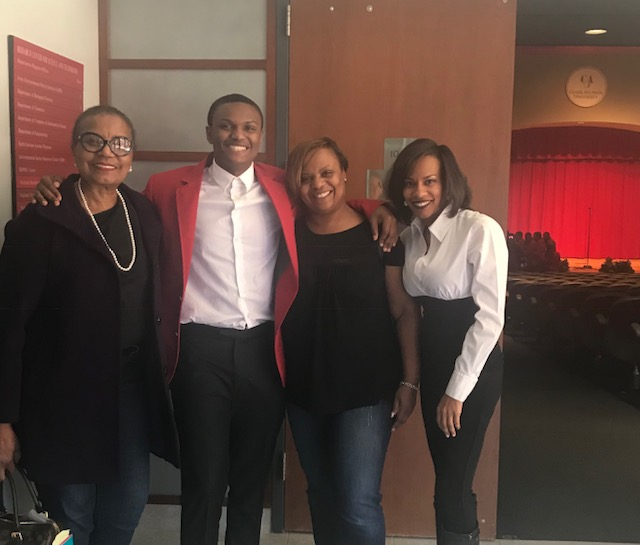 Ezekiel Taylor Scholar Inducted into HBCU Honor Society