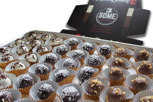 Couple Launches Delightfully Naughty '3 Some Chocolates'