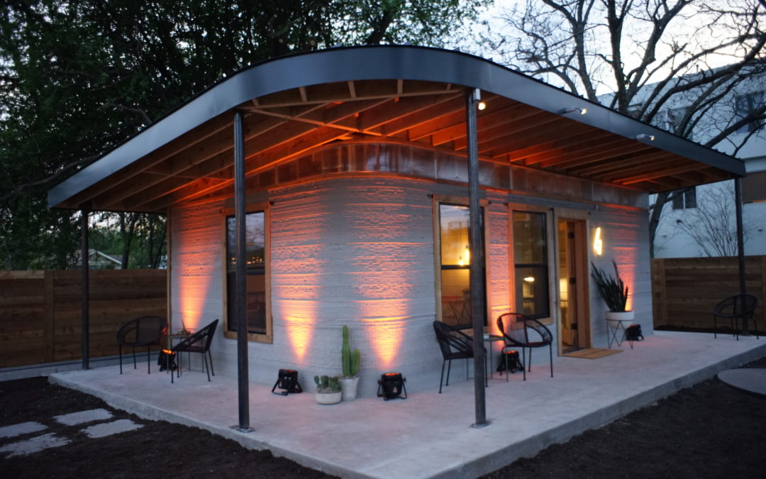 New Story and Icon Unveil 3-D Printed Home at SXSW to Tackle Global Homelessness
