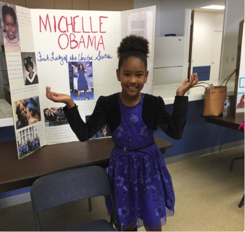 Third-Grader Gets 'A+' From Michelle Obama on Twitter